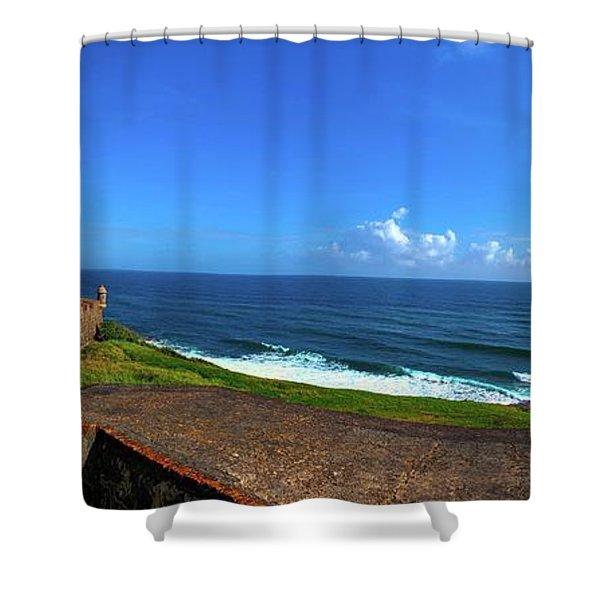 Eastern Caribbean Shower Curtain