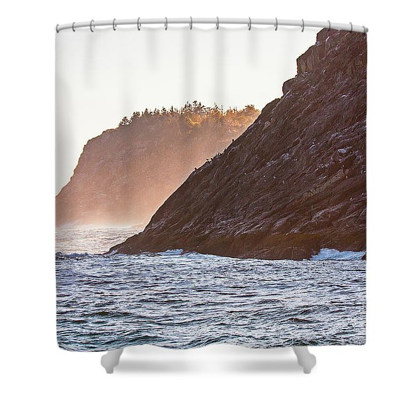 Eastern Coastline Shower Curtain