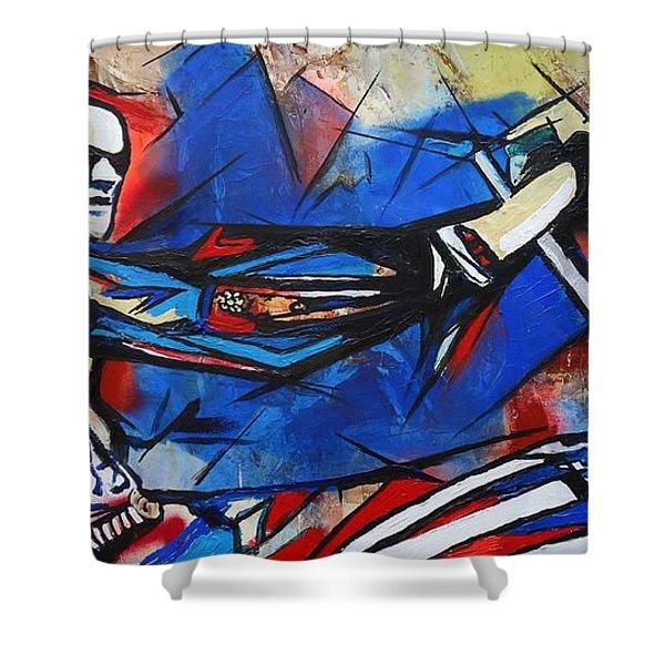 Easy Rider Captain America Shower Curtain
