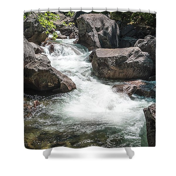 Easy Waters- Shower Curtain