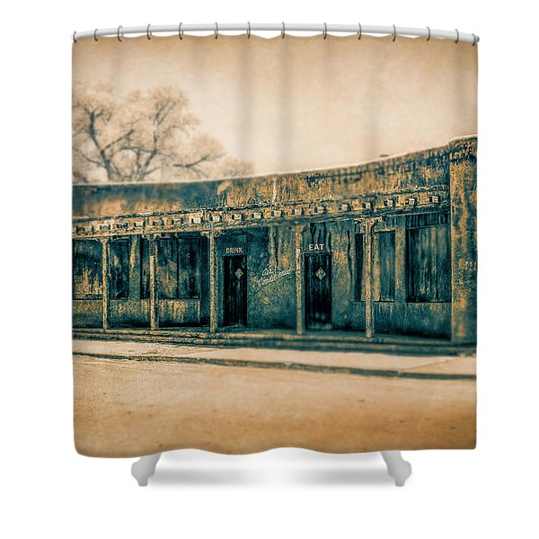 Eat And Drink Shower Curtain