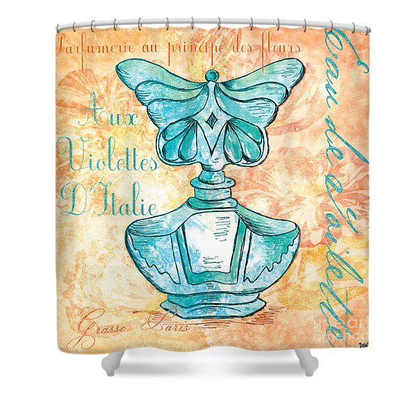 Eau De Toilette Shower Curtain