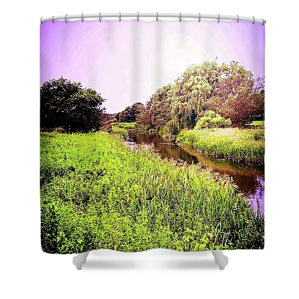 EB Shower Curtain