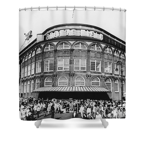 Ebbets Field, Brooklyn, Nyc Shower Curtain