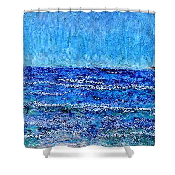 Ebbing Tide Shower Curtain