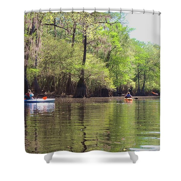 Ebenezer Creek Shower Curtain
