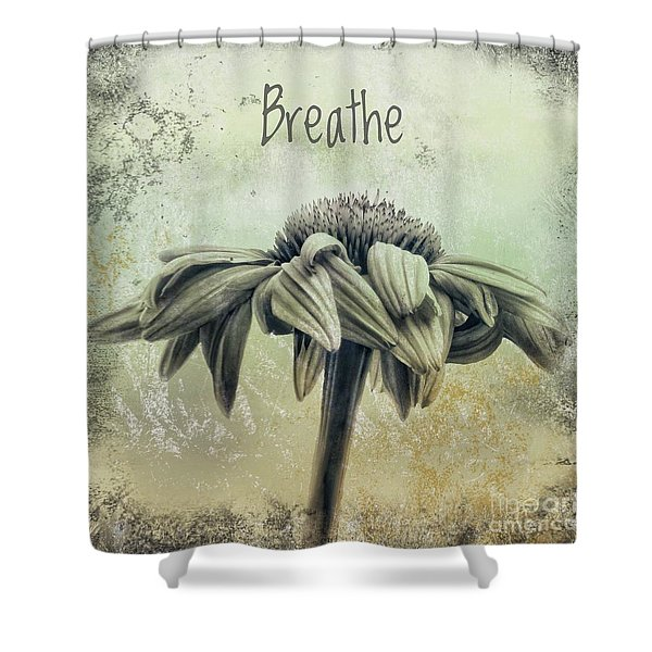 Echinacea Series 6 Shower Curtain