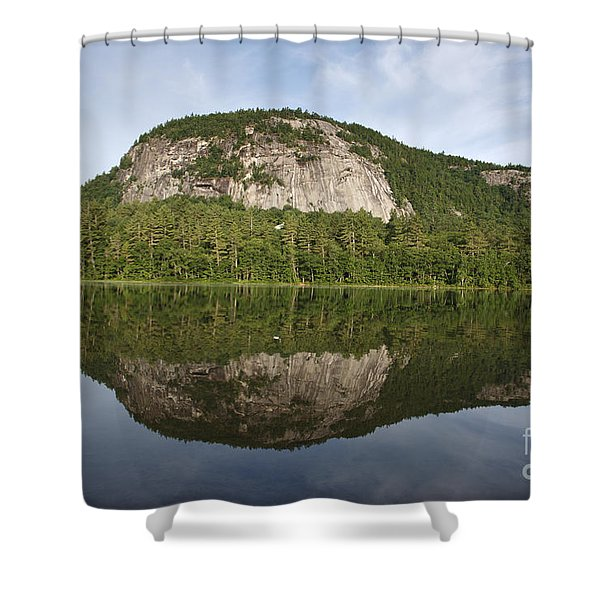 Shower Curtain featuring the photograph Echo Lake State Park - North Conway  New Hampshire Usa by Erin Paul Donovan