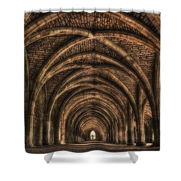 Echoes From Ancient Dreams Shower Curtain
