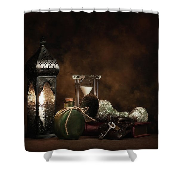 Eclectic Ensemble Shower Curtain