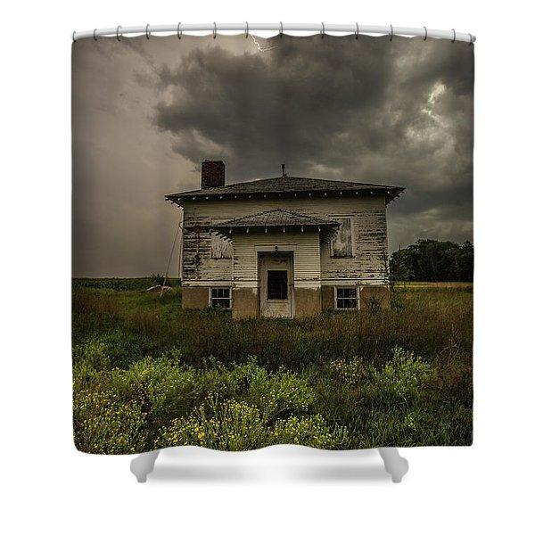Eclipse Apocalypse Shower Curtain