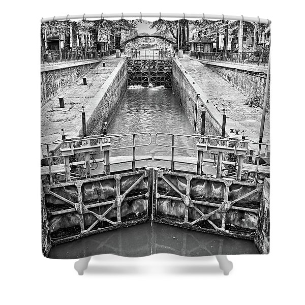Ecluse Du Temple Shower Curtain