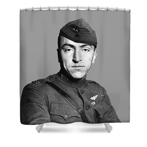 Eddie Rickenbacker Shower Curtain