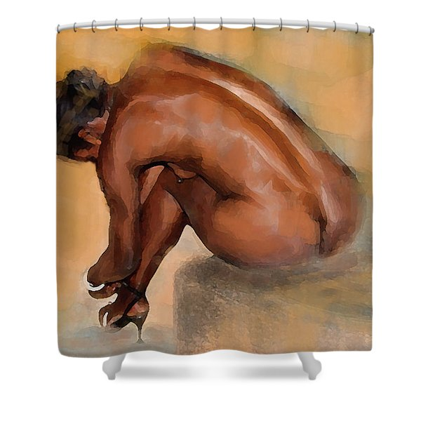 Edge Of Seduction Shower Curtain
