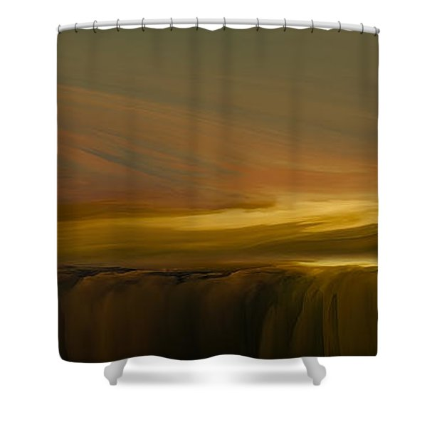 Edge Of Reality Shower Curtain