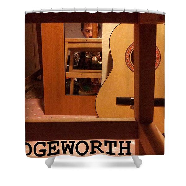 Edgeworth Acoustic Guitar Shower Curtain