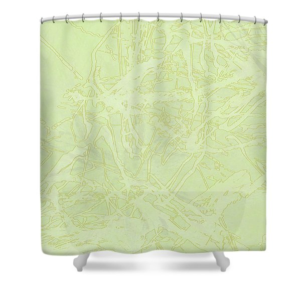 Edition 1 Lime Sorbet Shower Curtain