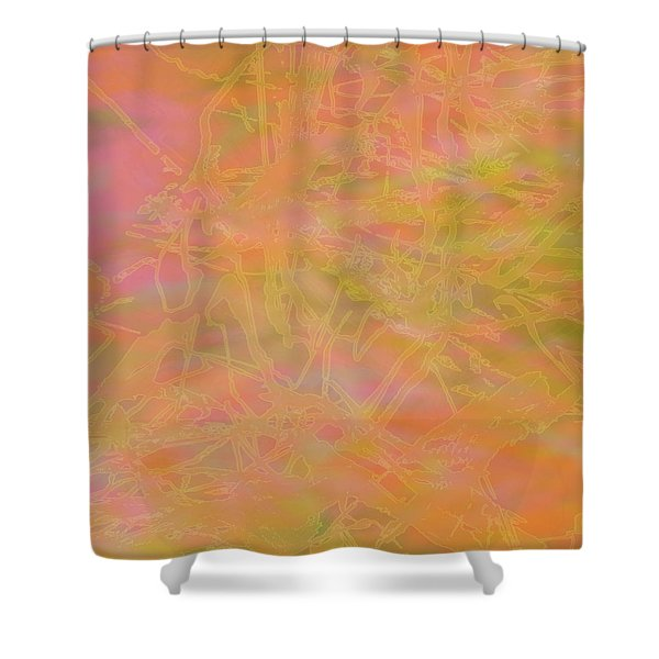 Edition 1 Mango Passion Shower Curtain