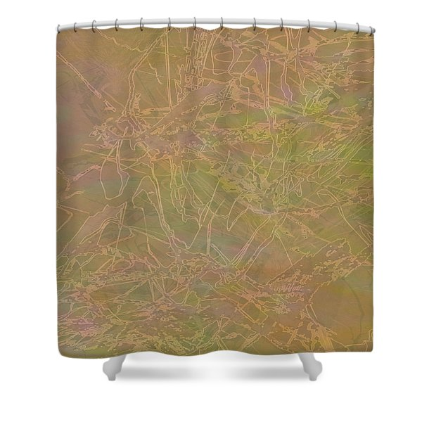 Edition 1 Maudlin Rose Shower Curtain