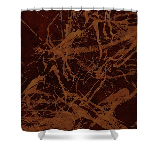 Edition 1 Rust Shower Curtain