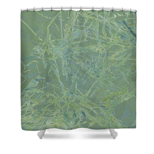 Edition 1 Sea Foam Shower Curtain