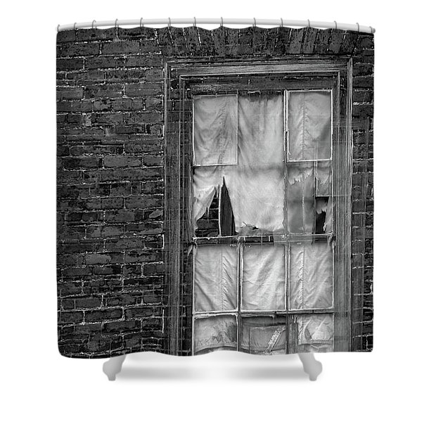Eerie Curtains Shower Curtain