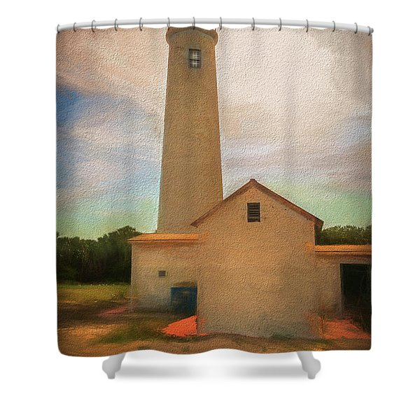 Egmont Key Shower Curtain