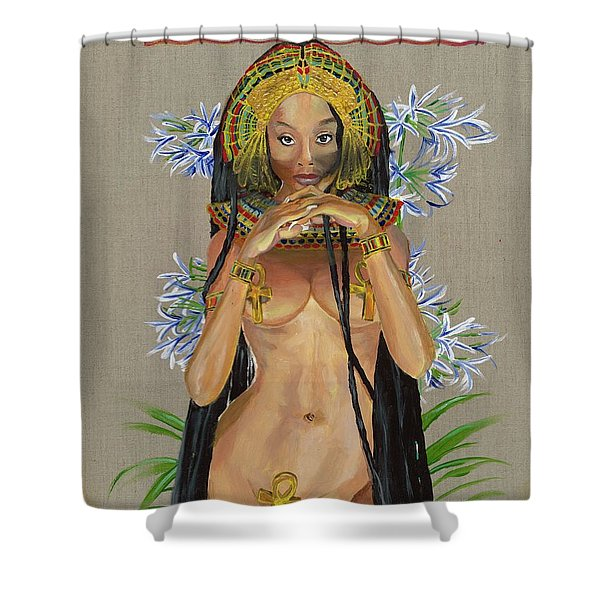 Egyptian Cotton Shower Curtain