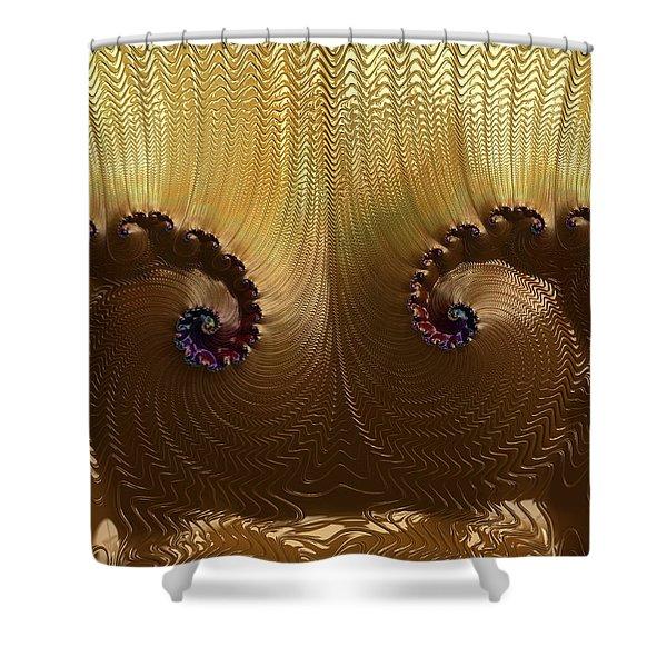 Egyptian God Shower Curtain
