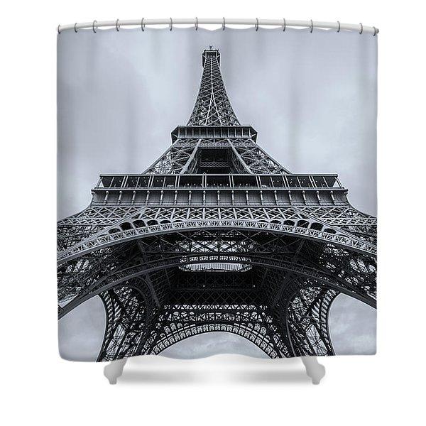 Eiffel Tower 3 Shower Curtain