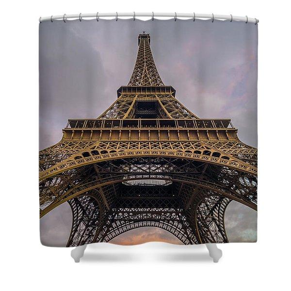 Eiffel Tower 5 Shower Curtain