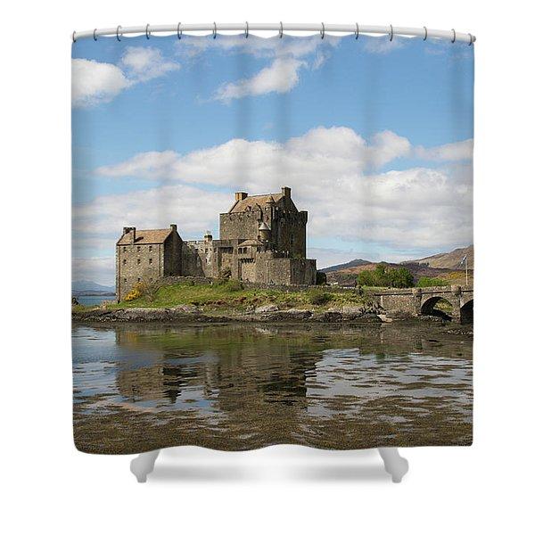 Eilean Donan Castle - Scotland Shower Curtain