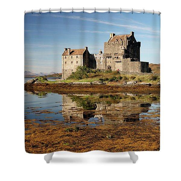 Eilean Donan Scotland Shower Curtain