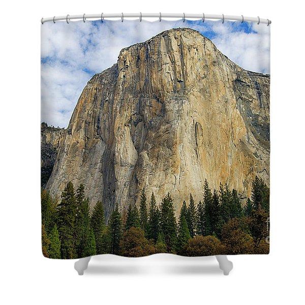 El Cap #2 Shower Curtain