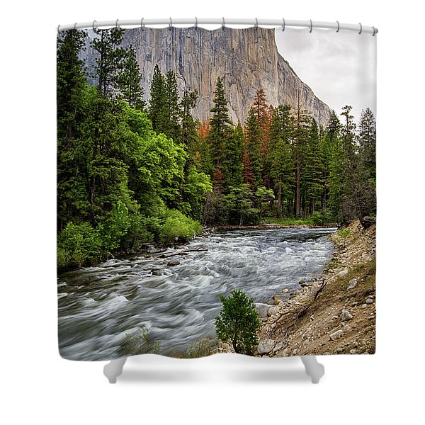 El Cap #3 Shower Curtain