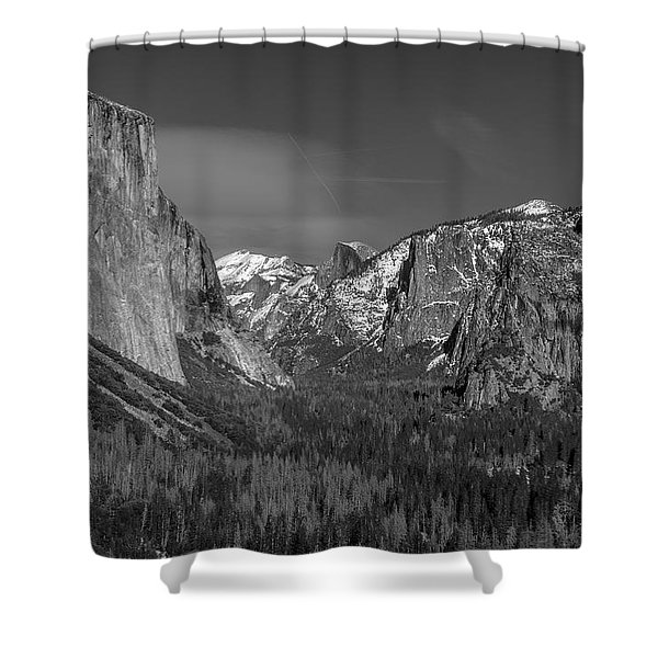 El Capitan And Half Dome Shower Curtain