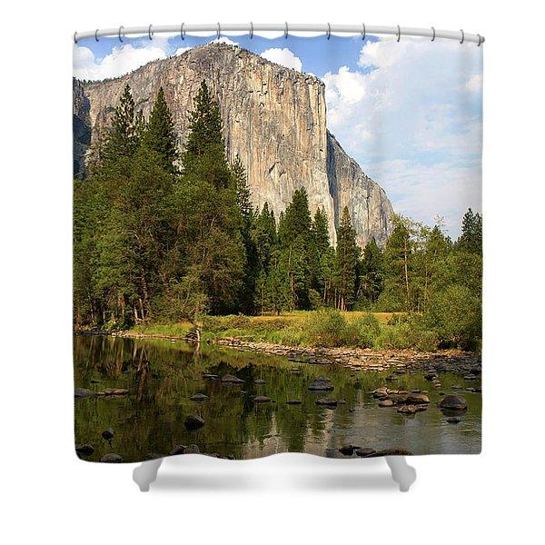El Capitan Yosemite National Park California Shower Curtain