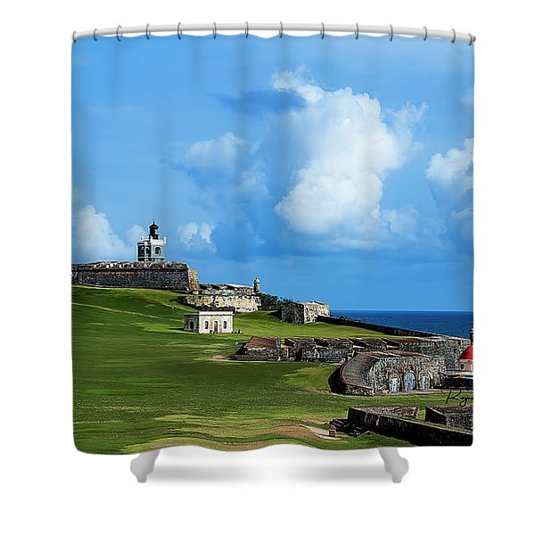 El Morro Shower Curtain