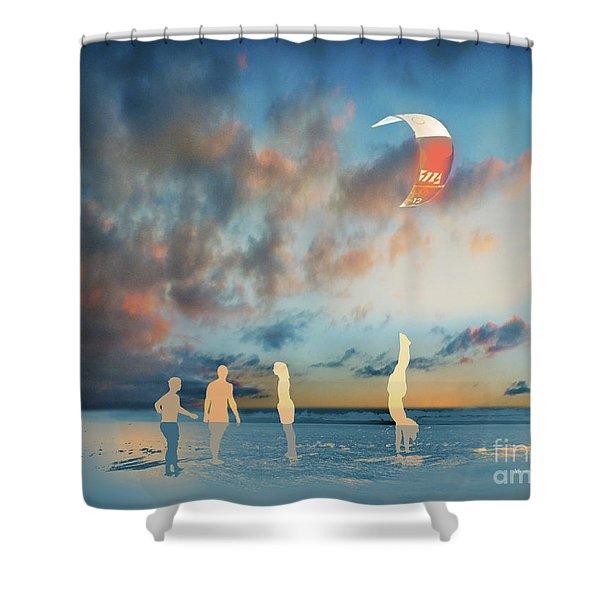 El Pino Shower Curtain