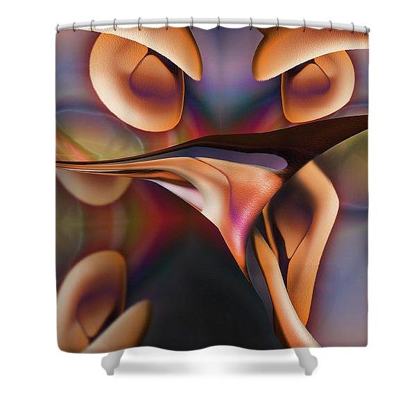 El Rey Cretchen Shower Curtain
