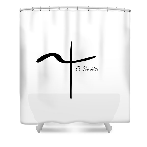 El Shaddai Shower Curtain