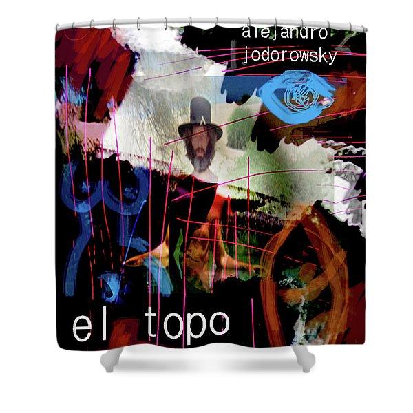 El Topo Film Poster  Shower Curtain