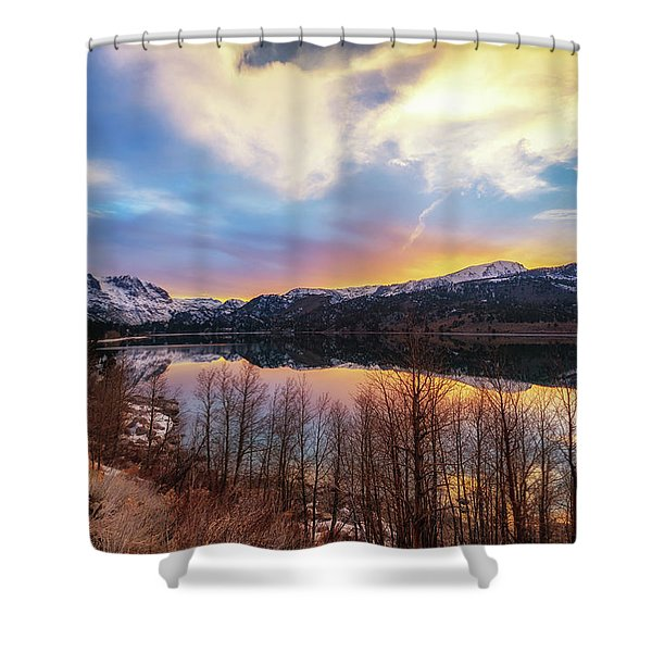Elevated Shower Curtain