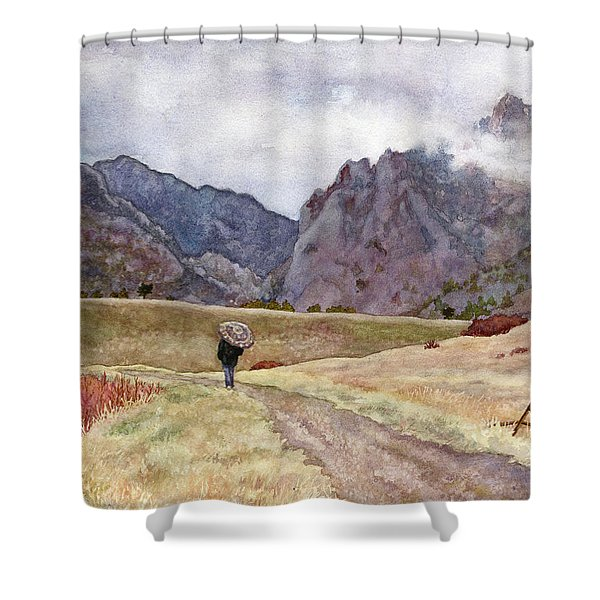 Eldorado Rain Shower Curtain