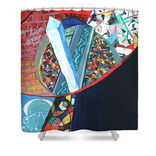 Election Of Outsiders 2016 Shower Curtain