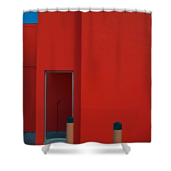 Electric Back Shower Curtain