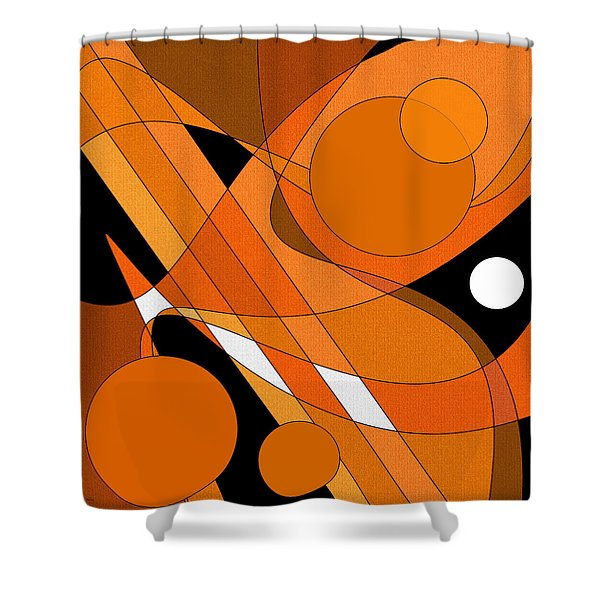 Electric Bass Shower Curtain