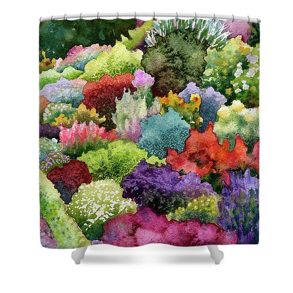 Electric Garden Shower Curtain