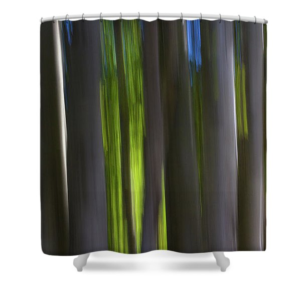 Electric Light  Shower Curtain