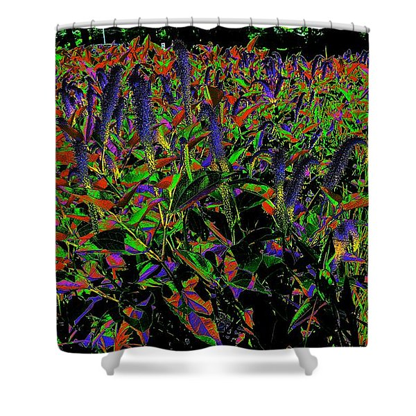 Electric Vision Shower Curtain